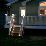 Installed LED Lighting on stairs - Wrightstown NJ