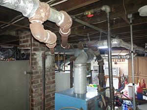 Steam Boiler install before 1