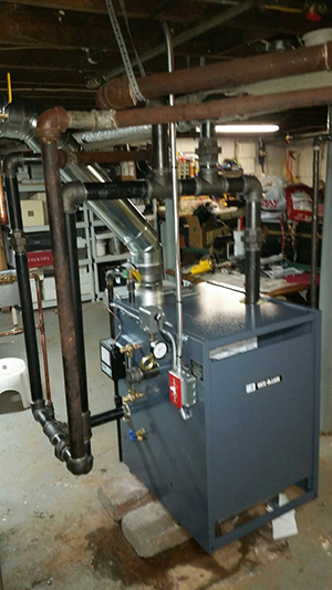 Steam Boiler Install After 1