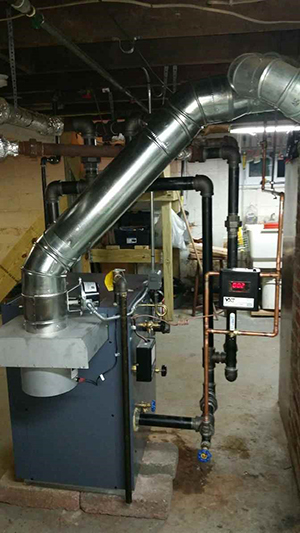 Steam Boiler Install After 2